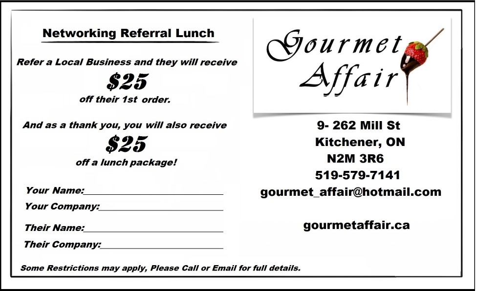 Email Referral coupon